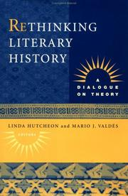 Cover of: Rethinking literary history |