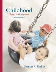 Cover of: Childhood | Spencer A. Rathus