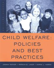 Cover of: Child Welfare | Jannah Mather