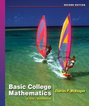 Cover of: Basic College Mathematics: a text/workbook