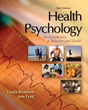 Cover of: Health Psychology | Linda Brannon