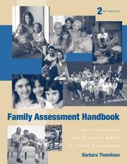 Family assessment handbook by Barbara Thomlison