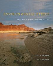 Cover of: Environmental Ethics | Louis P. Pojman