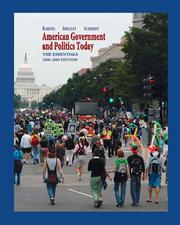 Cover of: American Government and Politics Today | Barbara A. Bardes