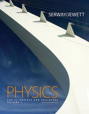 Cover of: physics Physics for Scientists and Engineers, Volume 1, Chapters 1-22