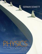 Cover of: Physics for Scientists and Engineers with Modern Physics, Chapters 39-46 (with ThomsonNOW Printed Access Card)