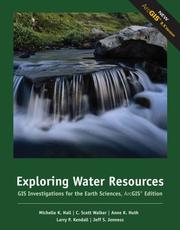Cover of: Exploring Water Resources | Michelle K. Hall