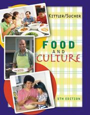 Cover of: Food and culture by