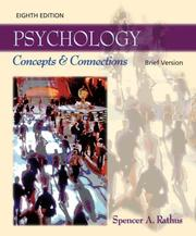 Cover of: Thomson Advantage Books: Psychology