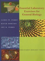 Cover of: Essentials Laboratory Exercises for General Biology | James W. Perry