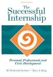 Cover of: The successful internship |