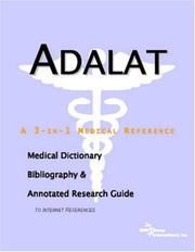 Cover of: Adalat: A Medical Dictionary, Bibliography, And Annotated Research Guide To Internet References