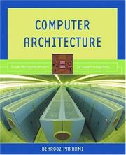 Cover of: Computer Architecture | Behrooz Parhami