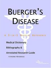 Cover of: Buerger