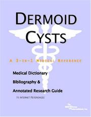Cover of: Dermoid Cysts | ICON Health Publications