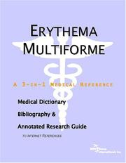 Cover of: Erythema Multiforme - A Medical Dictionary, Bibliography, and Annotated Research Guide to Internet References