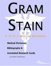 Cover of: Gram Stain | ICON Health Publications
