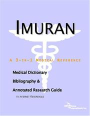 Cover of: Imuran: A Medical Dictionary, Bibliography, And Annotated Research Guide To Internet References