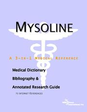 Cover of: Mysoline | ICON Health Publications