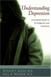 Cover of: Understanding Depression | Donald F. Klein