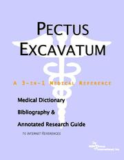 Cover of: Pectus Excavatum | ICON Health Publications