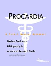 Cover of: Procardia | ICON Health Publications