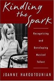 Kindling the Spark by Joanne Haroutounian