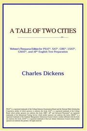 Cover of: A Tale of Two Cities | ICON Reference