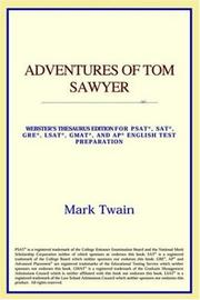 Cover of: Adventures of Tom Sawyer | ICON Reference