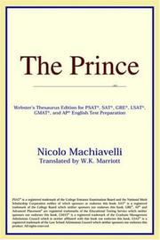 Cover of: The Prince