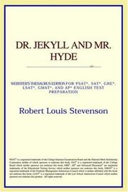 Cover of: Dr. Jekyll and Mr. Hyde | ICON Reference