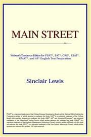 Cover of: Main Street