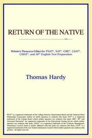 Cover of: Return of the Native | ICON Reference