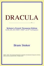 Cover of: Dracula