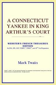 Cover of: A Connecticut Yankee in King Arthur