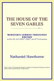 Cover of: The House of the Seven Gables