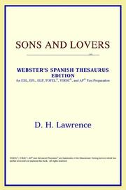 Cover of: Sons and Lovers