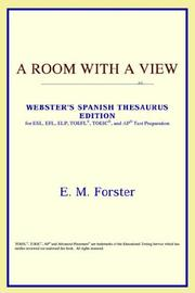 Cover of: A Room with a View