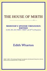 Cover of: The House of Mirth