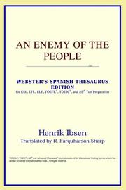 Cover of: An Enemy of the People