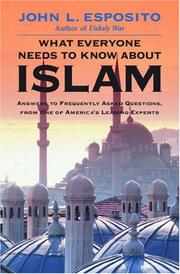 Cover of: What Everyone Needs to Know about Islam | John L. Esposito