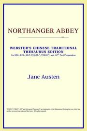 Cover of: Northanger Abbey