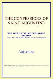 Cover of: The Confessions