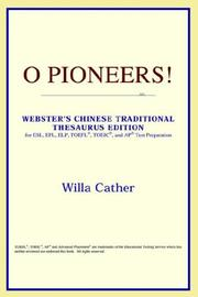 Cover of: O Pioneers!
