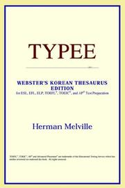 Cover of: Typee