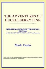 Cover of: The Adventures of Huckleberry Finn