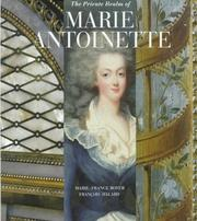 Cover of: The Private Realm of Marie Antoinette