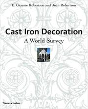 Cover of: Cast Iron Decoration | E. Graeme Robertson