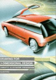 Cover of: Drawing for 3-dimensional design
