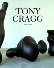 Cover of: Tony Cragg | Germano Celant
